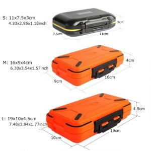 Plastic Fishing Tackle Box Double Layer Lure Fishing Box