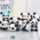 7pcs Kawaii Doll Panda Miniature