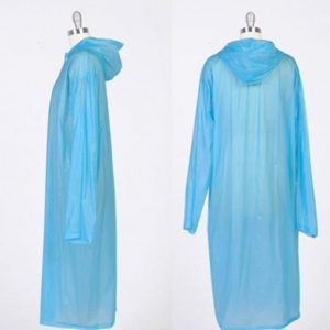 Transparent Raincoat Poncho Portable Light Raincoat