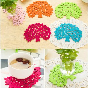 1PCS Big Tree Colorful Cup Drinks Holder