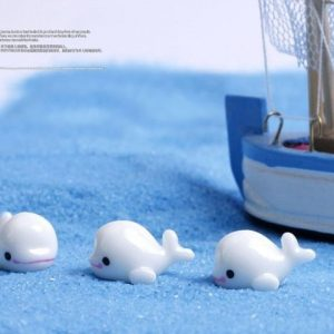 5Pcs Fish Dolphin Animal Miniature