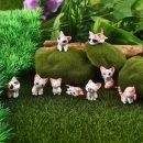 Mini Cheese Cat Ornament Miniature