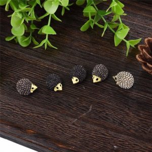 5pcs Hedgehog Fairy Garden Miniatures
