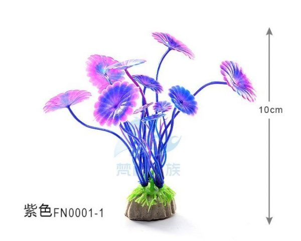 Artificial Aquarium Plant Decoration Mini Fish Tank