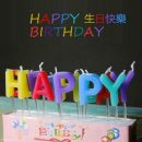 kids children Happy Birthday Letter number Candles Toothpick Cake Cute Candle Kids Party Decoration lamp