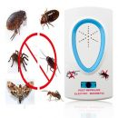 2016 Useful EU Plug AC 90 ~ 250V White Pest Repeller Electronic Ultrasonic Mouse Rat Mosquito