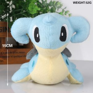 Pokemon Anime Lapras 15cm Soft Stuffed Plush Dolls Toy Kids Doll Gift