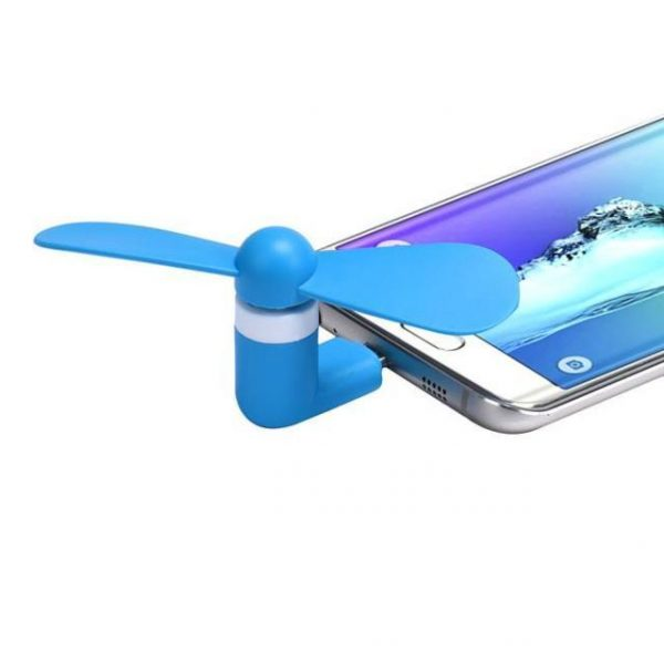 Mute 5Pin Portable Super Micro USB Cooler Cooling Mini Fan Samsung Galaxy S7 Edge/ S7 Best Summer