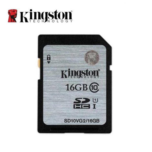 Kingston Real Capacity Class 10 SD Card 8GB, 16GB Flash Memory Cards Digital SD Memory Card