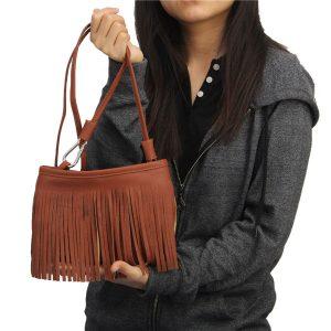 Lady Shoulder Bags Vintage Tassel Bags