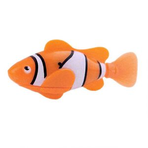 Funny Swim Electronic Robofish Activated Battery Powered Robo Toy fish Robotic Pet for Fishing