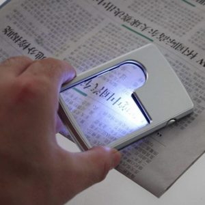 3x 6x Magnifier Magnifying LED Light Jewelry Loupe For reading Good use