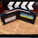 Men Stylish Business Leather Wallet Card Holder Coin Wallet Purse