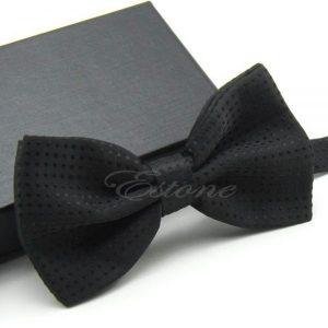 Men's Adjustable Polka Dot Bow Tie Polyester