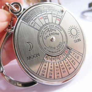 Mini Perpetual Calendar Keychain