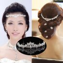 Wedding Elegant Bridal Prom Crystal Butterfly Flower Crown Super Sale Headband Charming