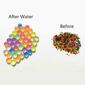 Orbeez Ball 10000PCS/Bag Home Decor Pearl Shaped Crystal Soil Water Beads