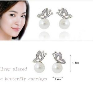 Butterfly design earrings