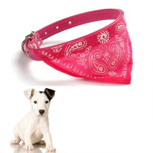 Adjustable Pet Dog Cat Puppies Collars Scarf