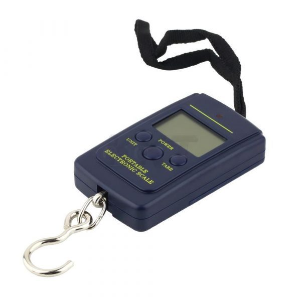 Portable 40kg 10g Electronic Scale Hanging Fishing Luggage Digital Pocket Weight Hook Scale