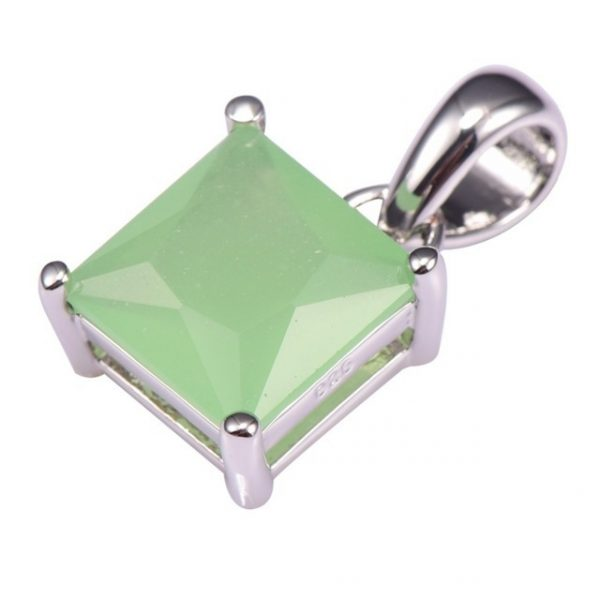 Prehnite Pendant 925 Sterling Silver Fashion Attractive Jewelry Pendant