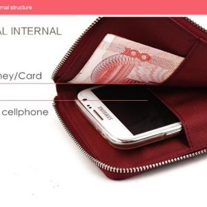 Hottest sale MILESI Fashion Lady pu leather Clutch Wallets Women zipper long Wallet