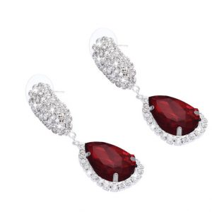 Women Rhinestone Crystal Earring Drop