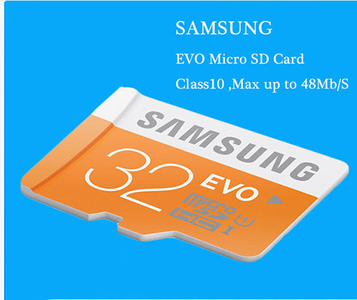 SAMSUNG Micro SD Memory Card 32GB MicroSD Cards SDHC SDXC Max 48Ms EVO
