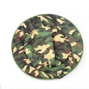 Outsp Outdoor Protection Anti-mosquito Night Fishing Hats & Sunshade Fishing Hat Camouflage Cap For Jungle
