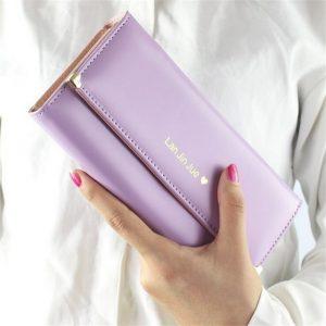 Designer Famous Luxury Brand Long Women Wallets Lady Female Card Coin Purse Carteras Walet Money Cuzdan