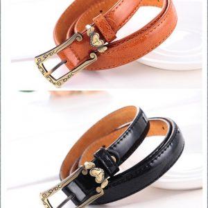 New arrival Genuine leather belts for women fashion belt Metal buckle cowhide women belt