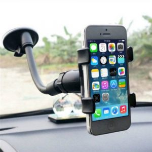 Universal Flexible 360 Degree Rotation Lazy Car Sucker Mount Holder Bracket