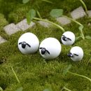 Cute Miniature Sheep Family Garden Fairy Ornament Figurine Plant Pot Bonsai