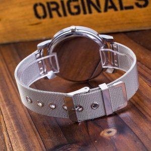 Silver Watches Fashion Geneva Watches Ladies Casual Wrist Watch Quartz Watch