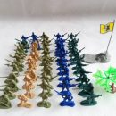Army soldier troopers static model military model toy plastic toy Children fighting Toys Christmas