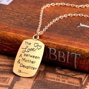 The Love between A Mother Daughter is the mother and daughter necklace