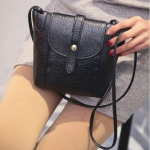 Leather Handbags Famous Brand Women Small Messenger Bags Female Crossbody Shoulder Bags