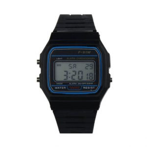 Watch Rubber Strap Retro Vintage Digital Watch Child's Watches for Boys Girls
