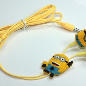Cartoon Minions Earphone