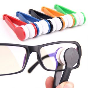 Mini Microfibre Glasses Cleaner Microfibre Spectacles Sunglasses Eyeglass Cleaner