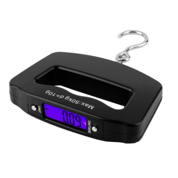 Hot Worldwide Pocket 50kg/10g LCD Digital Fishing Hanging Electronic Scale