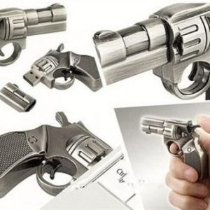 Genuine capacity USB 3.0 Flash Pen Drive Fold Storage Pendrive pistol style