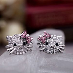 Hello Kitty cute little kitty earrings for women