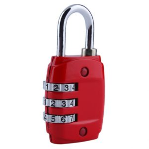 3 Digit Dial Combination Lock