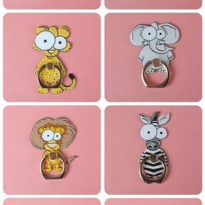 Cartoon animals cute Finger Holder