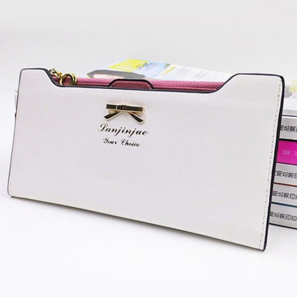 Fashion Wallet Female Carteira Feminina Lady Women Purse Long Zip Wallets PU Thin Card Holders