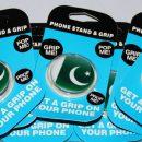 Pakistan Flag Pattern Design PopSockets For Mobiles