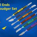 6pcs/Set Dual Ends Metal Phone Opening Repair Tool Kit