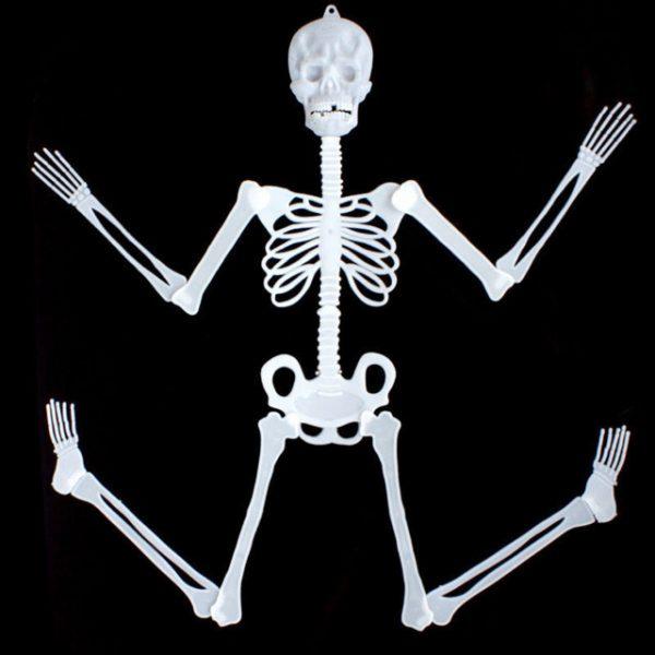 Skeleton Halloween Glow Evil Party