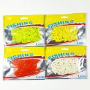 Grub Soft Lure Baits silicone bait smell Worms Glow Shrimps Fishing Lures for carp Fishing